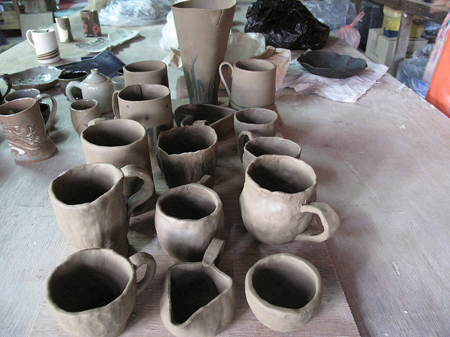 Enjoy Local Craft Beer and an Art Class at The District Clay Center